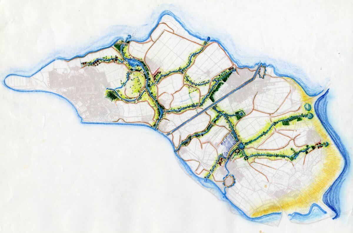 ontwerp voor een robuste ecologische structuur op voorne-putten-de kreken van voorne-putten-gemaakt bij rboi